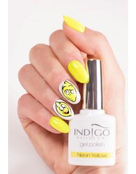 Neon Yellow Gel Polish Mini