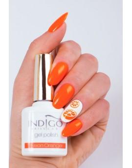 Neon Orange Gel Polish Mini