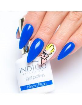 Neon Blue Gel Polish Mini